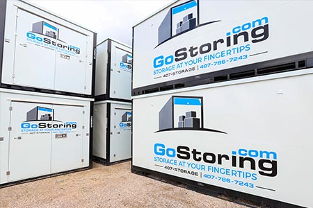 moving service container storage